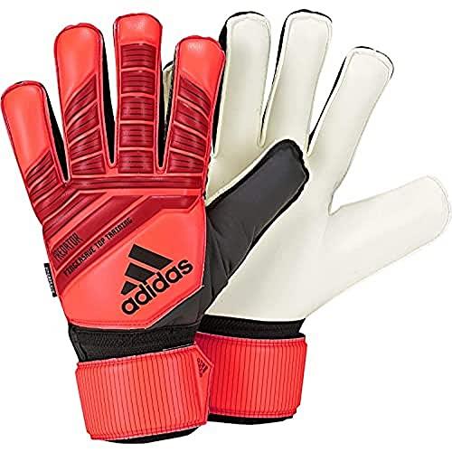 adidas Herren Predator Top Training Fingersave Torwarthandschuhe, Active Red/Black/Solar Red, 9