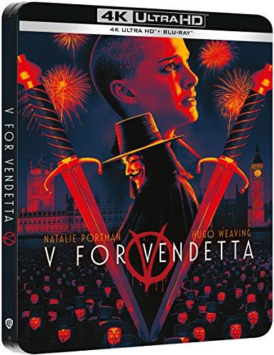 V de Vendetta - Steelbook 4k UHD [Blu-ray]