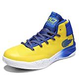 LFLDZ Men's Ms Basketball Shoes, Couple High-Top Basketball Boots Fashion Breathable Outdoor Trainers