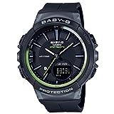 [カシオ] 腕時計 ベビージー FOR SPORTS 歩数計測 機能つき BGS-100-1AJF レディース ブラック