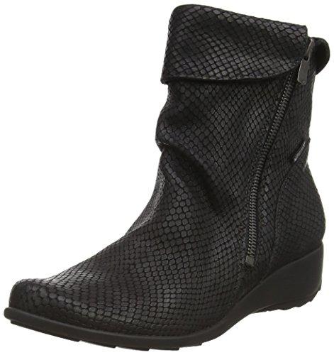 Mephisto Seddy - Bottes Et Boots - Femme - Semelle Amovible : Oui - Noir - Taille 7.5 UK