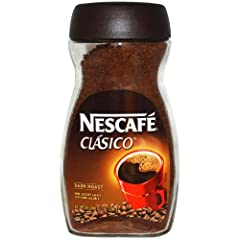 Premium Flavor Savor Rich Aroma and Flavor With Nescafé Clásico Dark Roast Instant Coffee; This Full Bodied, Dark Roast Instant Coffee Comes in a 7 Ounce Jar Pure Quality; Made with 100 percent real coffee from responsibly sourced coffee beans Except...