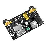 KKHMF 3.3V 5V MB102ブレッドボード用 電源モジュール パワーモジュール [並行輸入品]