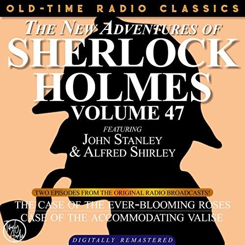 The New Adventures of Sherlock Holmes, Volume 47; Episodes 1 and 2 cover art