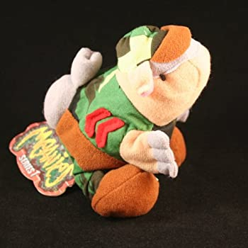 ARMYDILLO DAN MEANIES Series 1 Bean Bag Plush Toy From The Idea Factory