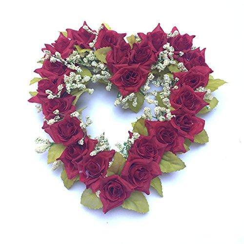 Couronne en forme de coeur Décoration de mariage lieux de mariage Amour Plastique