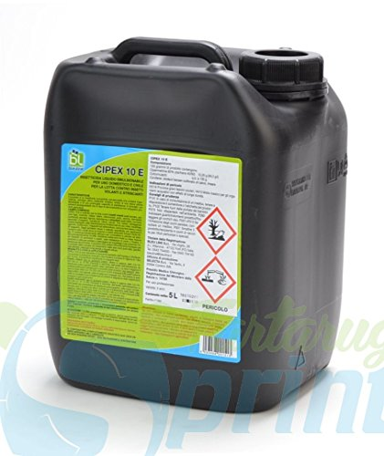 CIPEX 10E da 5 LT insetticida concentrato contro mosche e zanzare