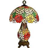 HTL Lampada Illuminazione Decorativa Set Di per Soggiorno Comodino Lampade da Tavolo per Bambini Camera da Letto Camera da Rustico Lampade da Tavolo in Resina Brown