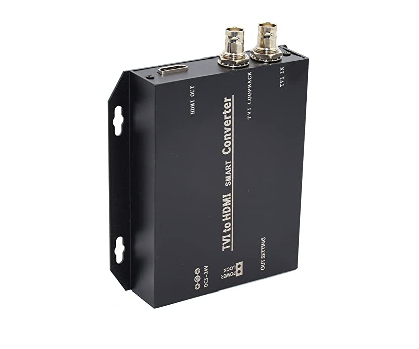 冬食堂競合他社選手Iseebiz TVI-HDMI ビデオコンバーター TVIをHDMIに変換 1080P対応 防犯 監視 カメラの映像をHDMIに変換 変換アダプター+リピーター 150M (TVI-HDMI)