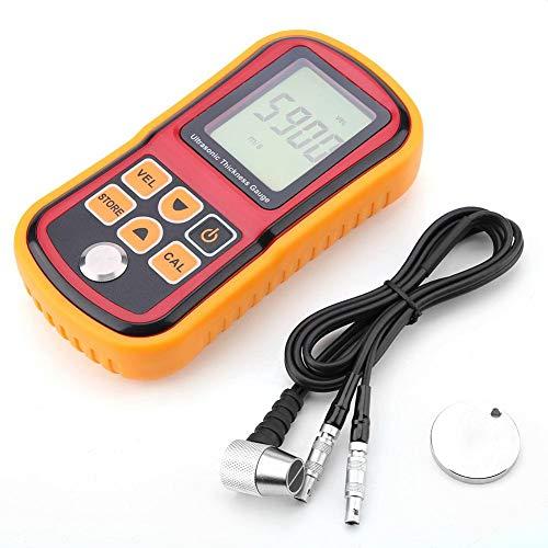 Medidor de espesor ultrasónico, GM100 Medidor de espesor digital ultrasónico Medidor de prueba Medidor 1.2~220 mm Monitor de prueba de ancho de acero utilizado en el campo o trabajo en alturas