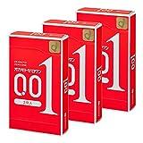 【まとめ買いセット】オカモトゼロワン0.01ミリ3個×3箱入