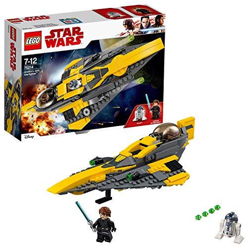 LEGO 75214 Star Wars TM Caza Estelar Jedi de Anakin (Descontinuado por Fabricante)