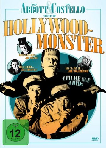Bud Abbott & Lou Costello treffen die Hollywood-Monster [4 DVDs]