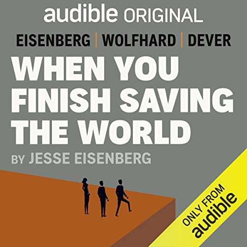 When You Finish Saving the World cover art