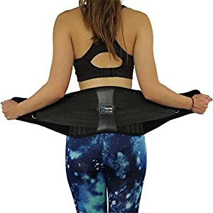 ✅ PREMIUM QUALITY - Most comfortable Back Support Belt on the Market - Durable - WASHABLE ✅ REMOVABLE LUMBAR PAD - Does not scratch, roll, slip or bunch - The ONLY Back Brace available with EASY GRIP HANDLES ✅ SAY GOODBYE BACK PAIN - Medical device f...