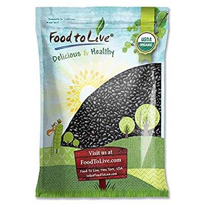 organic black beans, End of 'Related searches' list