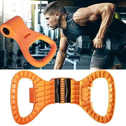 CHIRORO Forza Forza Allenamento Kettlebell Grip Rinforzatori mano Casa Palestra Fitness Attrezzatura Portatile Allenamento Attrezzatura per Bodybuilding e sollevamento pesi