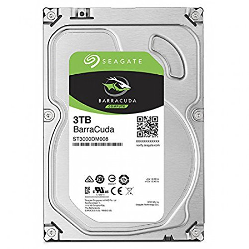 Seagate ST3000DM007 - Internal HDD BarraCuda 3.5'' 3TB SATA3 5400RPM 256MB