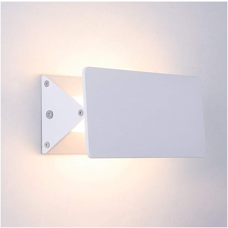 @Wandleuchte Wandleuchte Moderne Kreative LED Schmiedeeisen Wohnzimmer Schlafzimmer Studie Wandleuchte Wandlampe (Größe   6W 18CM)