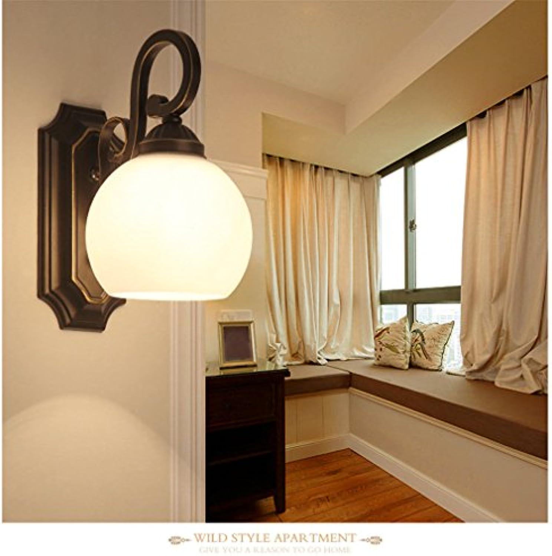 Firsthgus E27 Wandlampe Schlafzimmer Gang Nachttischlampe Wohnzimmer Hintergrund Wandlampe