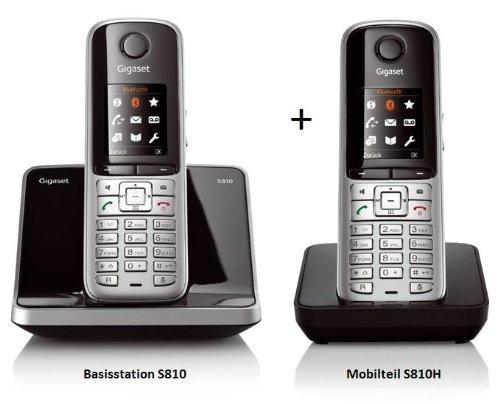 Siemens Gigaset S810 + S810H Duo [Elektronik]