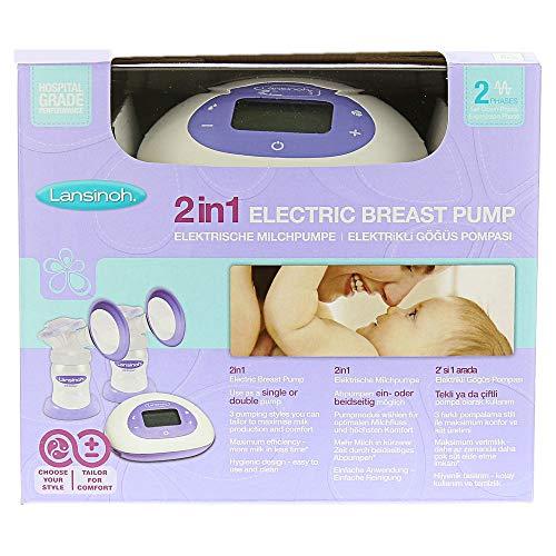 LANSINOH 2in1 elektrische Milchpumpe 1 St