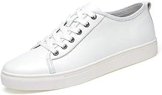 DADIJIER Zapatillas de Deporte de Moda para Hombre Casual Clásico Color Puro Simple Low-Top Zapatos Deportivos Ligeros Ant...