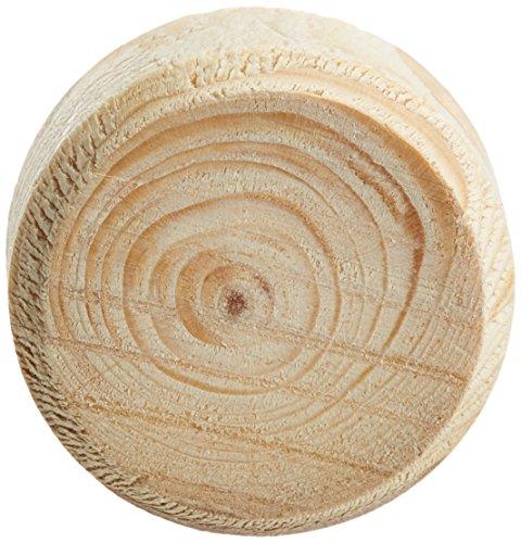 LAMELLO 157020.01 Astdübel-Gebirgsfichtenäste, ø 20 mm, Höhe 9 mm, Inhalt 250 Stück