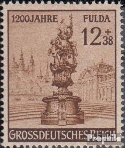 Prophila Collection Deutsches Reich 886II (kompl.Ausg.), S in GROSSDEUTSCHES offen (Feld 11) 1944 Fulda (Briefmarken für Sammler)