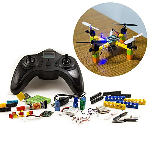 Kitables Lego RC Drone Kit - Build and fly your very own quadcopter with our DIY drone building kit