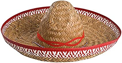 SATINIOR 3 Pezzi Mini Cappello Messicano Mini Cappello di Paglia Messicano Cappelli di Paglia per Fiesta Carnival Estate Party Decorazioni Adulti Adolescenti Animali Domestici