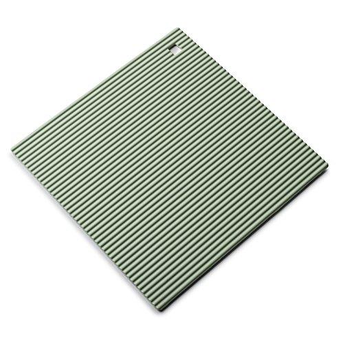 Zeal Coque en Silicone résistant à la Chaleur Dessous de Plat, antidérapant, Silicone, Vert Sauge, 22 cm