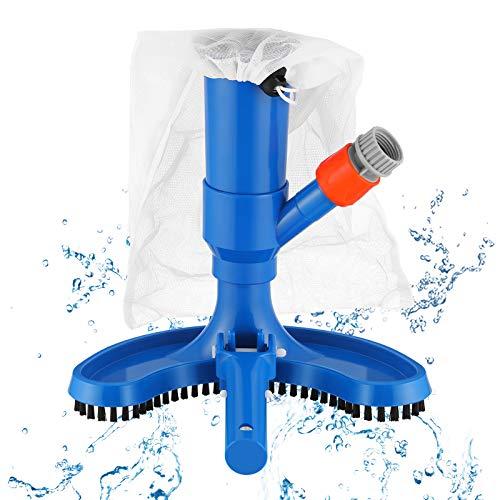 Aspirador de Piscina Cepillo para aspiradora para Piscina, Portátil Cepillo Succión Limpiador