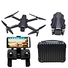 Notice:We use new carry case package instead original box package.SJRC F11 RC Quadcopter Drone bonus 1 hand-carry travel case. Brushless GPS 1080P WIFI FPV RC Quadcopter drone with 5GHz Wifi Fpv 1080p Camera.Auto Return, Follow Me, Altitude hold hvoe...