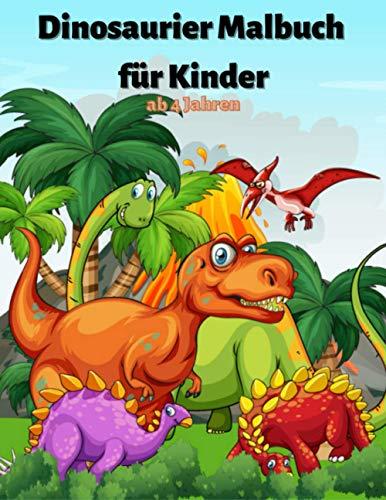 Dinosaurier Malbuch für Kinder ab 4...