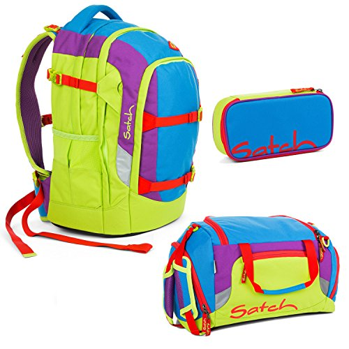 Satch Pack - 3tlg. Set Schulrucksack - Flash Jumper