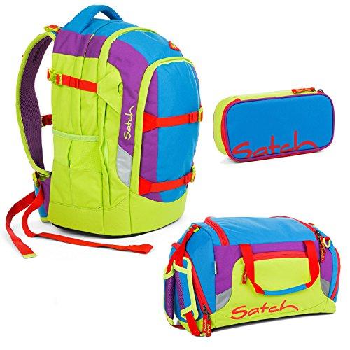 Satch Pack - 3tlg. Set Schulrucksack - Flash Jumper