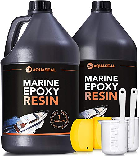 Product Image of the Table Top Epoxy Resin Epoxy - Bar Top Epoxy Clear Epoxy Resin Countertop Epoxy Marine Epoxy Resin Epoxy Countertop Kit Epoxy Kit 2 Gallon 2 Part Epoxy Resin Clear Marine Grade Epoxy