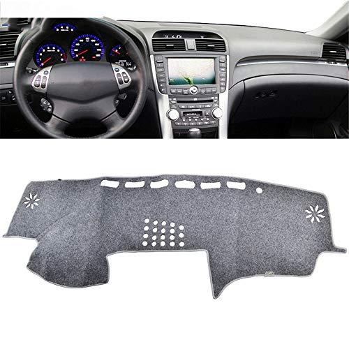 , Voor auto, Voor Acura TL 2004 2005 2006 2007 2008 Dash Mat Cover Dashmat Pad Tapijt Dashboard Cover Lichtgrijs Grijs