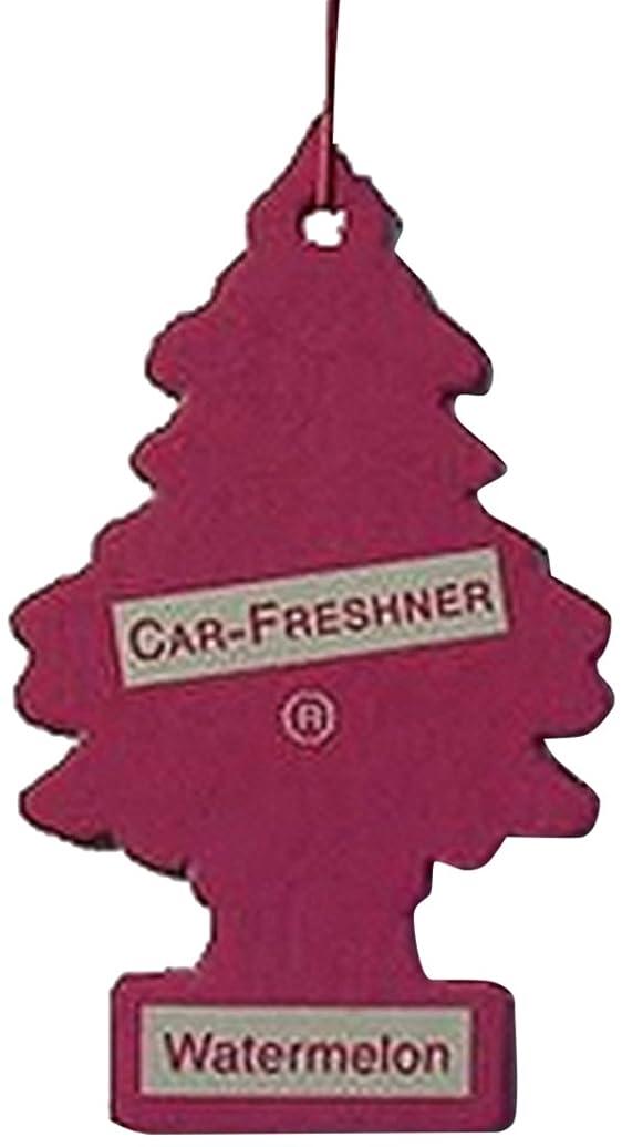 四半期護衛奨学金Little Trees 吊下げタイプ エアーフレッシュナー ウォーターメロン 5枚セット(5P)