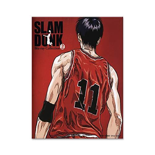 fdgdfgd Kreative Karikatur Sport Moderne Kunst Wand Slam Dunk Basketball Basketball Malerei Poster und Fotodruck drucken Schlafzimmer Dekoration