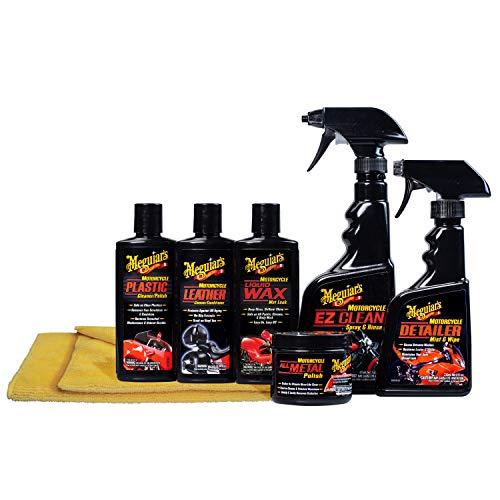 best motorcycle cleaner wax