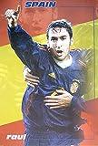 Raul Gonzales Blanco Poster SPANISCHE Nationalmannschaft