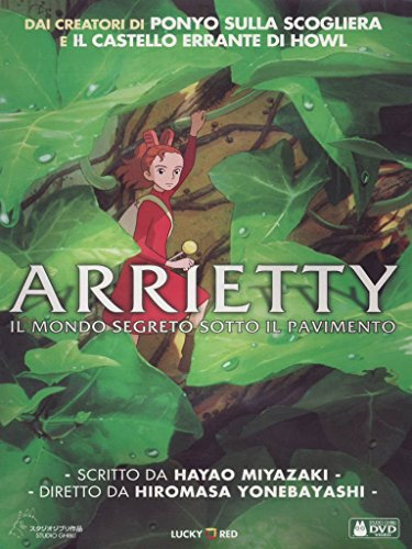 Arrietty-Il Mondo segreto Sotto il pavimento [Import]