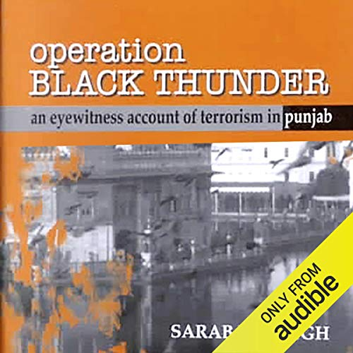 Operation Black Thunder cover art