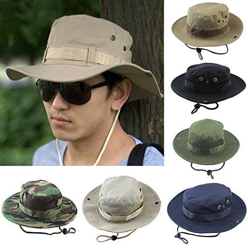 XHXseller Sombrero de Verano con protección UV, Sombrero de Playa para Exteriores,...