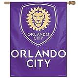 MLS Orlando City FC SC Vertical Flag, 27 x 37', Multicolor