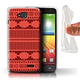 Stuff4 Phone Case for LG L90/D405 Cartoon Polynesian