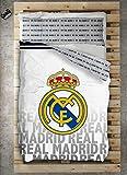 TEXTILONLINE - Funda Nordica 2 Pzas. Real Madrid Emblema (Ca