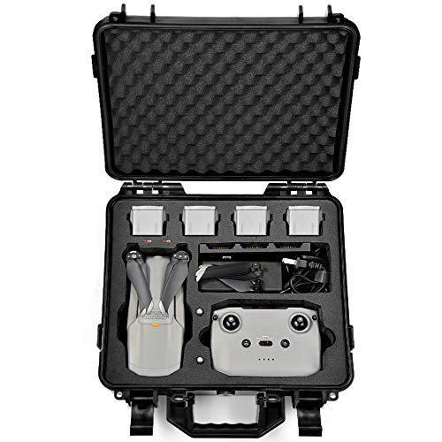 LEKUFEE Koffer für DJI Mavic Air 2 Fly More Combo - Platz für Bis Zu 5 Akkus-mit Mehr Mavic 2 Air Zubehör